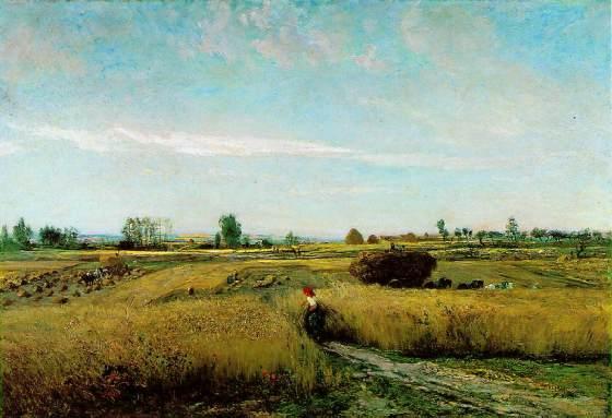 Colheita – Charles François Daubgny – 1851