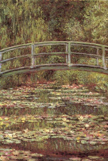 O Lago das Ninfeias - Claude Monet - 1899