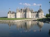 Residência do rei Luís XIV, o castelo Chambord foi erguido no século 16.