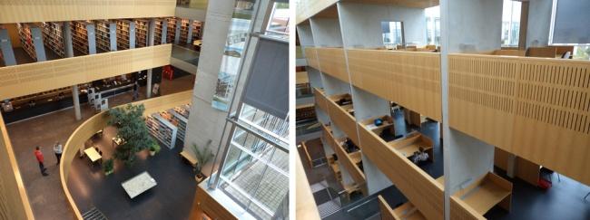 Estrutura da biblioteca na Alemanha