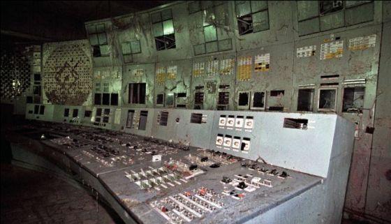 O Reator Número 4 da usina nuclear de Chernobyl - Ucrânia,