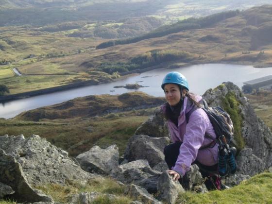 Escalando em Wales com o Clube de Escalada da Universidade de Brunel