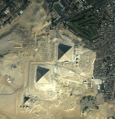 Pirâmides do Egito - Foto: satimagingcorp.com