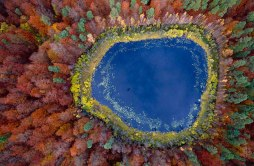 Lago em Pomerânia, Polônia - Foto: Kacper Kowalski