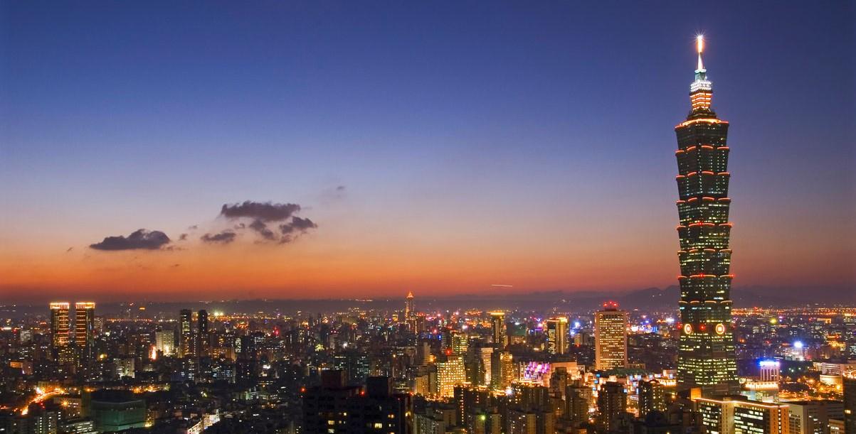 Taipei101 ext nightcontext for Taipei financial center corp