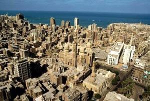 A cidade de Alexandria. Fonte: cidadeselugares.blogspot.com