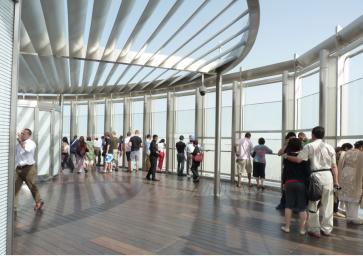 Burj Observação deck