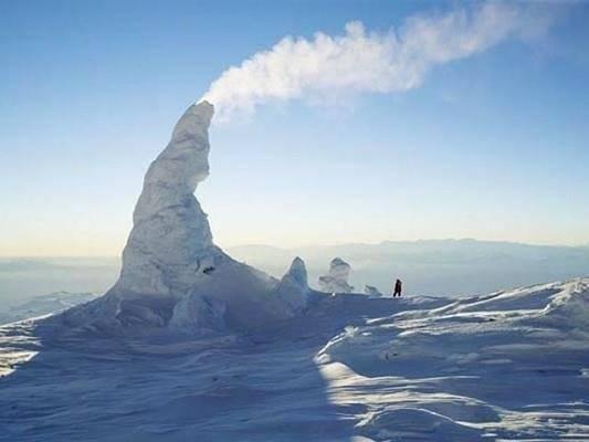 chaminés de neve