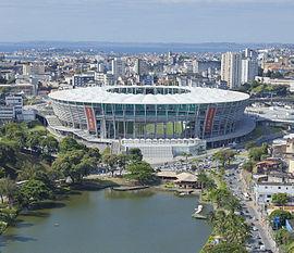 Arena Fonte Nova. Fonte: Wikipedia
