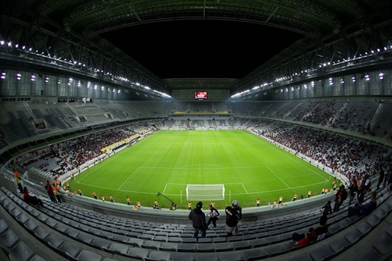 Atletico PR v Corinthians - Friendly Match and Test Event in preparation for FIFA Brazil World Cup