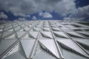 A claraboias. Fonte: snohetta.com