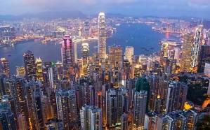 A populosa e povoadíssima cidade de Hong Kong. Fonte:  Telegraph