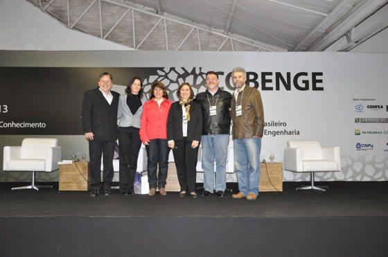 Coordenadores do Cobenge 2013, do Cobenge 2014 e da ABENGE