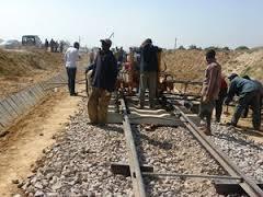 Reabilitação de ferrovia entre Bié e Moxico. Fonte: Portal de Angola