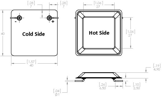 Gerador termoelétrico - TEG