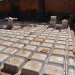 Assentamento das cubetas. Fonte: UFRGS