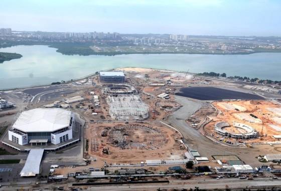 Parque Olimpico em Dezembro 2014