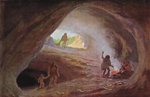 vivendo caverna
