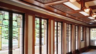 Art-glass-doors-in-Robie-House