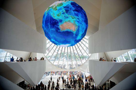 Rio de Janeiro - Para celebrar a inauguração do Museu do Amanhã, na Praça Mauá, aberto pela primeira vez ao público neste fim de semana, a Prefeitura do Rio realiza o Viradão do Amanhã (Tomaz Silva/Agência Brasil)