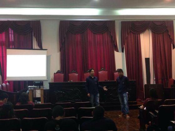 Apresentação do Projeto Mãos à Obra desenvolvido pelo PET Civil UFJF