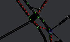 Simulação de tráfego