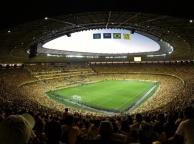 """Interior do Estádio """"Castelão""""."""