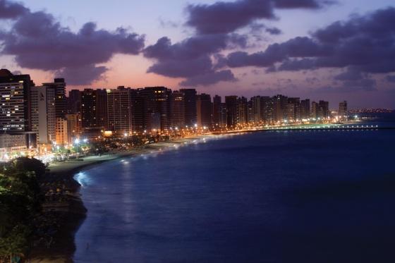 Fortaleza-Praia-Mucuripe-Noite
