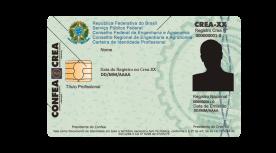 Carteira de Identidade Profissional - Frente