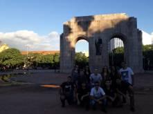 Grupo no Parque Farroupilha